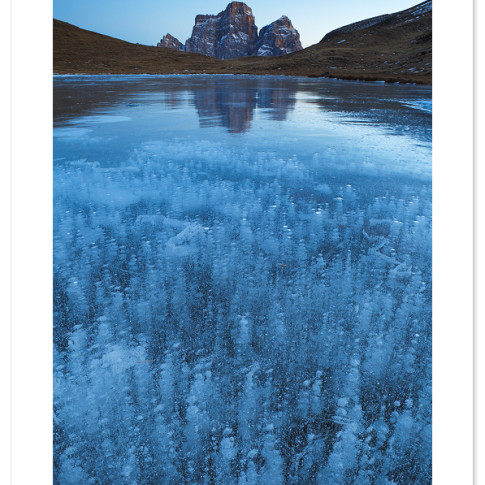 Lago delle Baste, inverno
